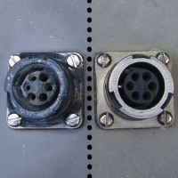 Good Socket vs. Socket showing damage due to improper latching