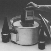 Paper chart pasteuriser thermograph from Grant Instruments circa 1982